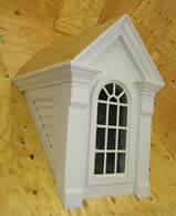 prefinished standard dormer with window